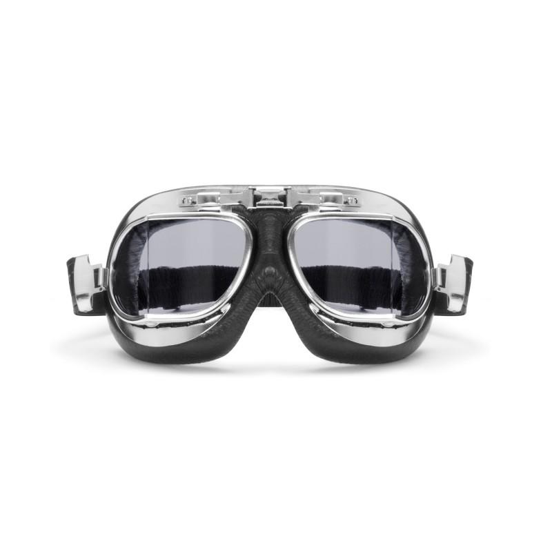 Gafas Vintage para Motoristas con lentes Anti-vaho y Antichoque AF193CR by  Bertoni Italy  e4ab73ee94bc