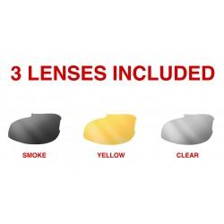 Antifog Sunglasses for Prescription Lenses AF399 for Cycling MTB Basket Tennis Football Motorbike Etc.