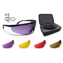 Shooting Glasses Tactical Protective Safety Eyewear for Prescription Lenses AF899