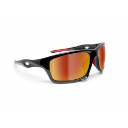 Sport Sunglasses for Cycling Running Ski Motorcycle Cycling Fishing – mod. OMEGA by Bertoni Italy