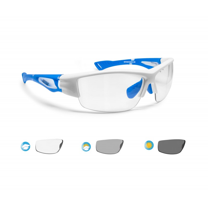 cb7cf03160 Bertoni Gafas de Sol Deportivas Fotocromaticas para Hombre Mujer Deporte  Ciclismo Running Esqui MTB – mod