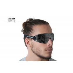 Maschera Antifog con Supporto Ottico AF79D - indossati - Bertoni Italy