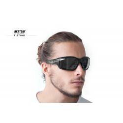 Occhiali Sportivi Ultraleggeri FT1000A - visione laterale -Bertoni Italy