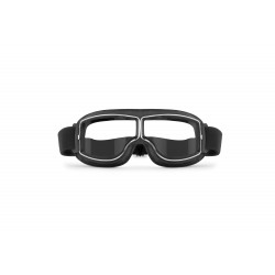 Motorcycle Goggles AF188B -  front view - Bertoni Italy