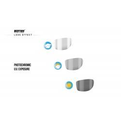 Photochromic Sunglasses ALIEN F -  photochromic lens effect - Bertoni Italy