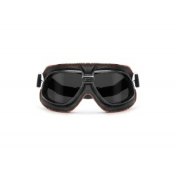 Maschera in Pelle AF196A - visione frontale - Bertoni Italy