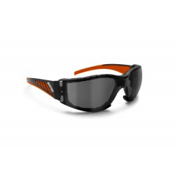 Antifog Sunglasses for Motorcycle, Ski, Shooting and Free Fly AF149HD1 - Bertoni Italy