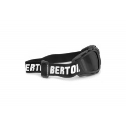 Multilens Goggles AF120B - for Motorcycle and Extreme Sports - side view - Bertoni Italy