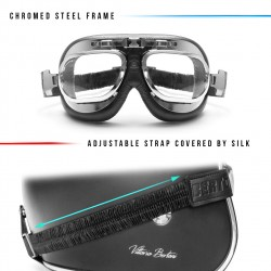 Motocycle Goggles AF191CRA - details - Bertoni Italy