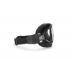 Maschera Pelle Moto AF193L - visione laterale - Bertoni Italy