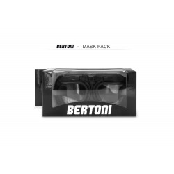 Maschera Pelle Moto AF193L - pack - Bertoni Italy