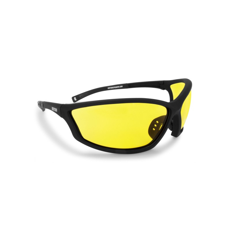 Antifog Sunglasses with Optical Insert AF100A - Motorcycle, Ski and Shooting - Bertoni Italy