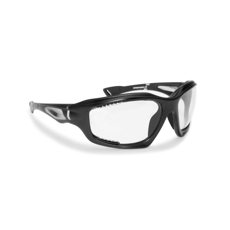 Antifog Photochromic Sunglasses F1000A for Motorcycle, Cycling MTB, Running. Free Fly, Extreme Sports and Golf - Bertoni Italy