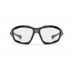 Occhiali Fotocromatici F1000A per Moto, Sci, Ciclismo MTB, Volo, Running e Golf - visione frontale - Bertoni Italy