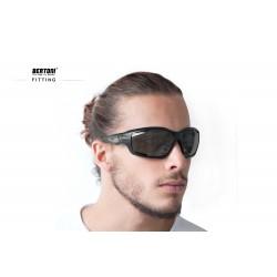Occhiali Fotocromatici F1000A per Moto, Sci, Ciclismo MTB, Volo, Running e Golf - fitting - Bertoni Italy