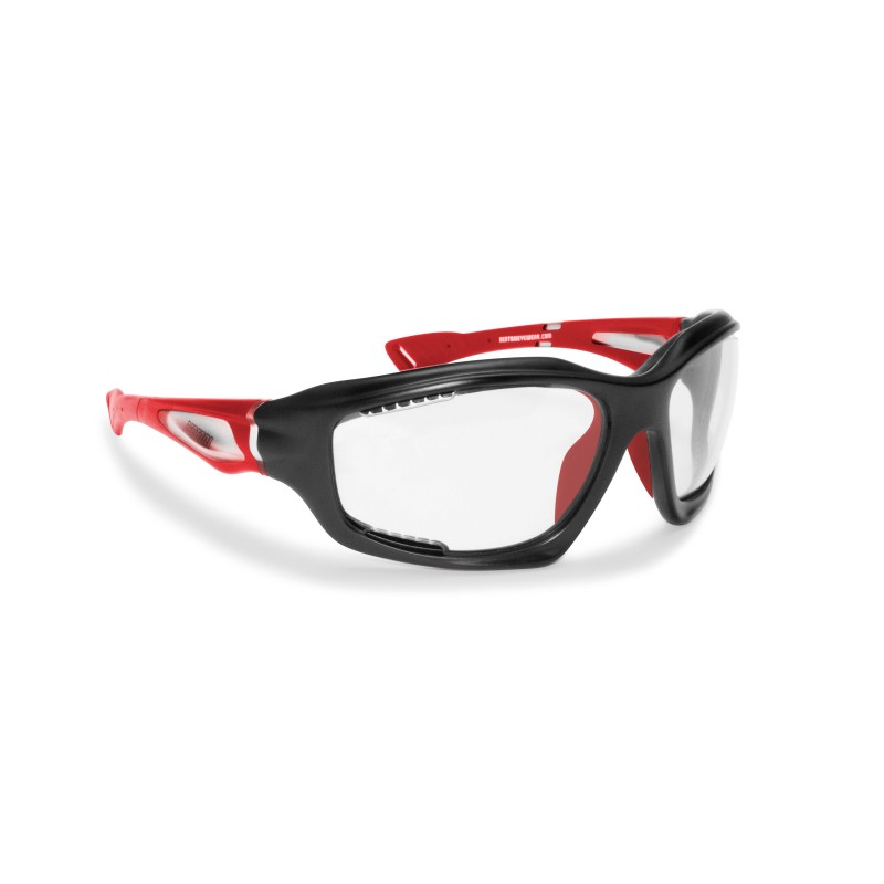 Antifog Photochromic Sunglasses F1000B for Motorcycle, Cycling MTB, Running. Free Fly, Extreme Sports and Golf - Bertoni Italy