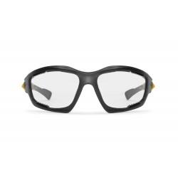 Occhiali Fotocromatici F1000C per Moto, Sci, Ciclismo MTB, Volo, Running e Golf - visione frontale - Bertoni Italy