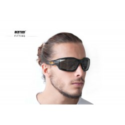 Occhiali Fotocromatici F1000C per Moto, Sci, Ciclismo MTB, Volo, Running e Golf - fitting - Bertoni Italy