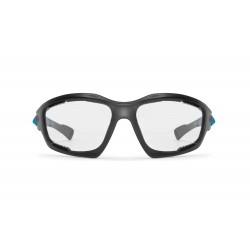 Occhiali Fotocromatici F1000D per Moto, Sci, Ciclismo MTB, Volo, Running e Golf - visione frontale - Bertoni Italy