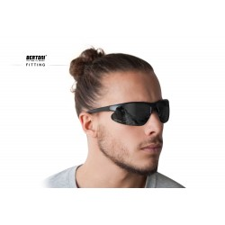 Photochromic Polarized Sunglasses P301AFT - fitting - Bertoni Italy