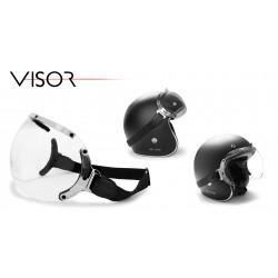 VISOR Jet helmet