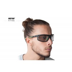 Photochromic Sunglasses F180M - Motorcycle Ski Cycling Golf Running Skydiving - fitting - Bertoni taly