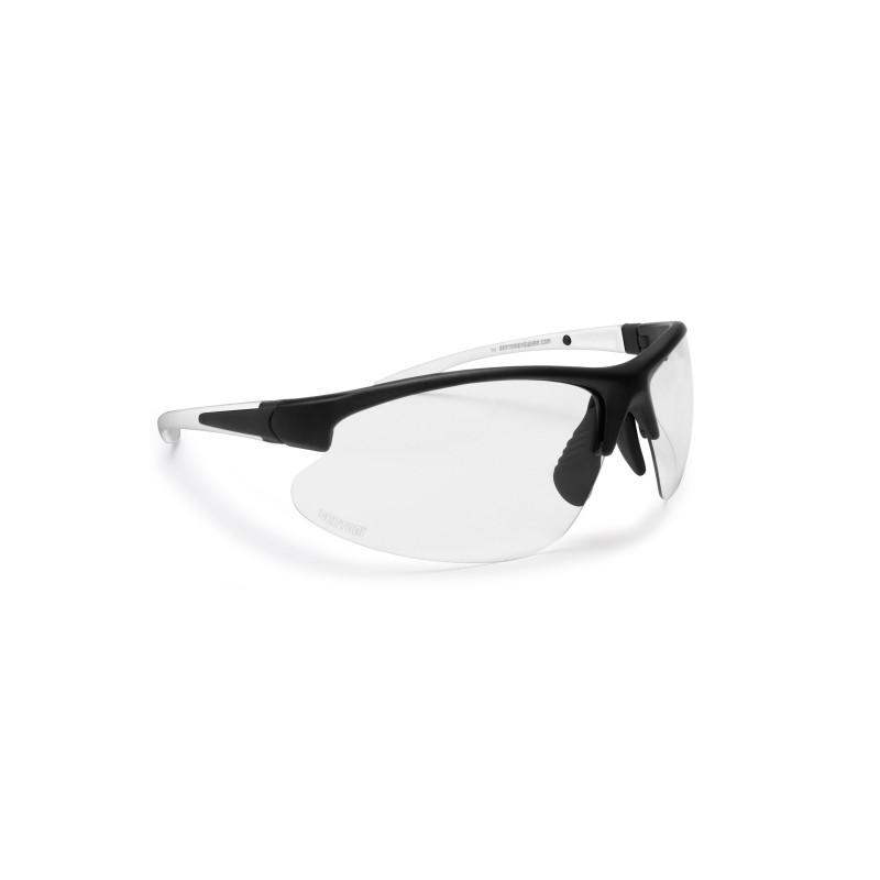 Photochromic Sunglasses F301B - Cycling Golf Ski Running MTB - Bertoni Italy