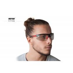 Photochromic Sunglasses F301C - Cycling Golf Ski Running MTB - fitting - Bertoni Italy