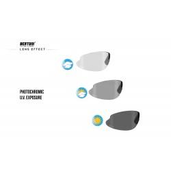 Occhiali Fotocromatici F301 - Ciclismo MTB Golf Running Sci - effetto lente fotocromatica - Bertoni Italy