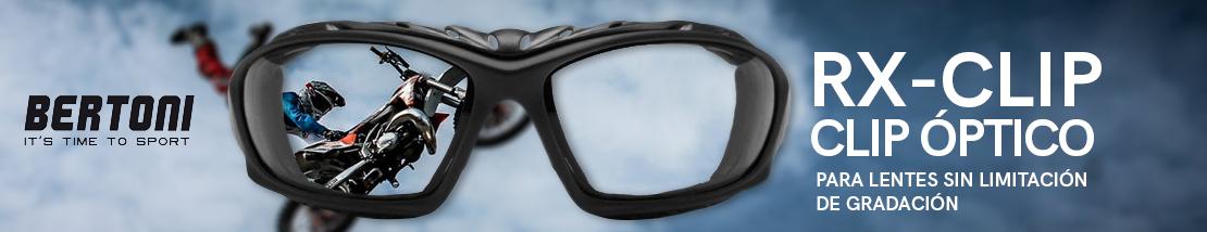 Gafas Deportivas con Clip Óptico