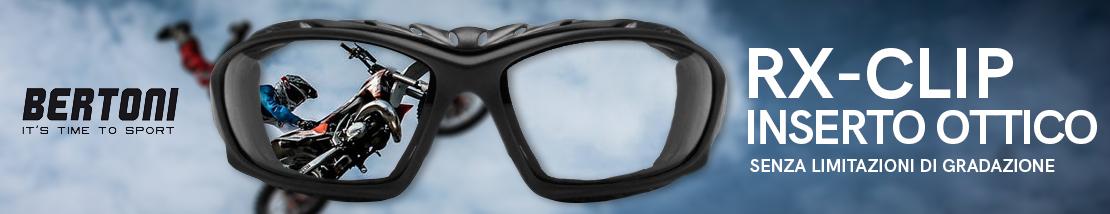 RX - Clip Ottica senza alcuna limitazione di gradazione