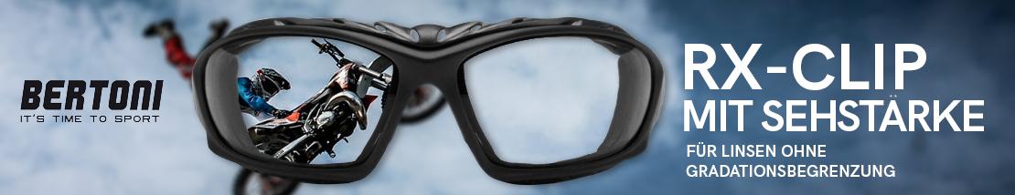 Sportbrille mit Sehstarke