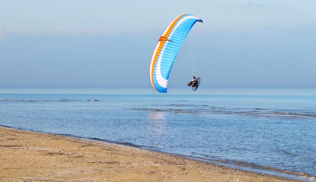 Flugbrille fur Paragliding und Fallschirmspringen